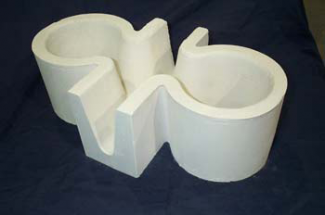Monolithic Insural 140 Tabletop Refractory Cross Feeder