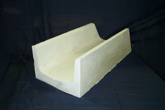 Monolithic Insural 140 Tabletop Refractory EntryTrough