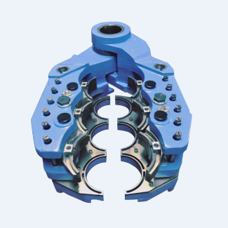 Pyrotek's Converted Equalizing Axial Cooled Hanger Boosts Pack-to-Melt Ratio