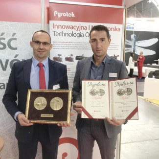 Pyrotek Receives Innovation Medal