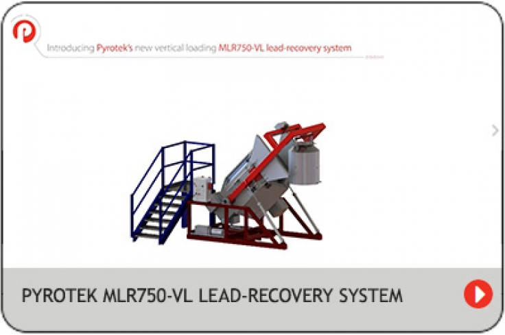 Vertical loading MLR750-VL lead recovery system