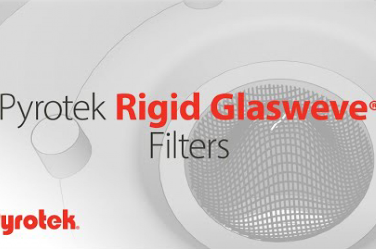 Pyrotek Rigid Glasweve Filters